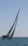 马拉加种族西班牙游艇 免版税图库摄影
