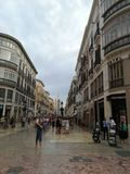 马拉加西班牙 免版税图库摄影