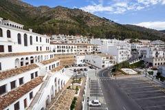 马拉加,安大路西亚,西班牙省的米哈斯。 免版税库存照片