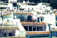 马拉加,安大路西亚,西班牙省的米哈斯  免版税库存图片