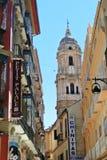 马拉加,西班牙- 2014年7月 免版税库存图片