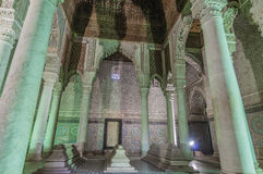 马拉喀什摩洛哥saadian坟茔 免版税图库摄影