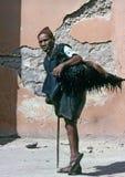 马拉喀什,摩洛哥â 1979年8月 库存图片