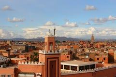 马拉喀什在摩洛哥 免版税库存照片