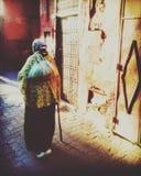 马拉喀什早晨 免版税图库摄影