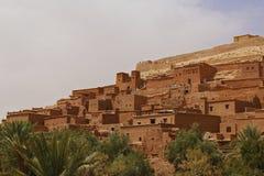 马拉喀什自然风景在摩洛哥,非洲 沙漠和山 旅行摩洛哥 旅行癖 库存照片