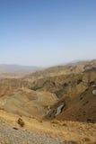 马拉喀什自然风景在摩洛哥,非洲 沙漠和山 旅行摩洛哥 旅行癖 免版税库存图片