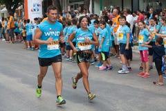 马拉松在希腊 免版税图库摄影