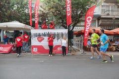 马拉松在希腊 库存图片