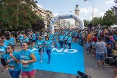 马拉松在希腊 库存照片