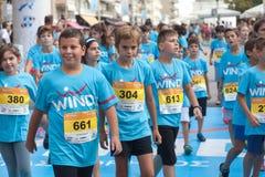 马拉松在希腊 免版税库存照片