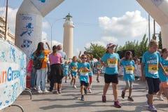 马拉松在希腊 免版税库存图片
