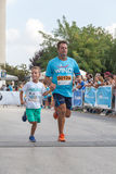 马拉松在希腊 图库摄影