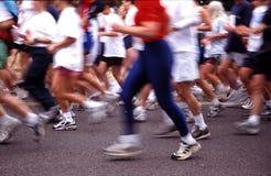 马拉松运动员 免版税库存图片