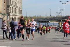 马拉松速度 免版税图库摄影