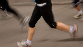 马拉松长跑 库存照片