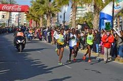 马拉松长跑 免版税库存照片
