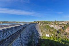 马拉松水坝 库存图片