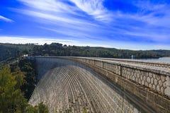 马拉松水坝 库存照片