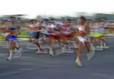 马拉松 图库摄影
