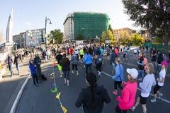 马拉松 免版税库存图片