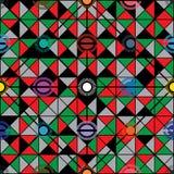 马拉维旗子象设计无缝的样式 免版税库存图片
