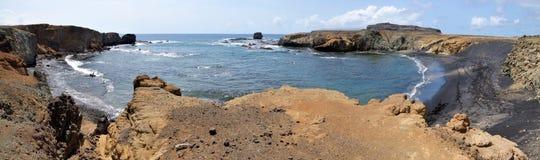 马掌形状的海湾 免版税库存图片