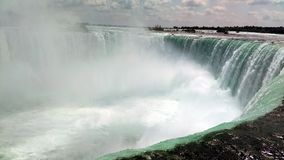 马掌秋天,尼亚加拉瀑布,加拿大 库存图片