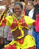 从马提尼克岛的女性执行者 免版税图库摄影