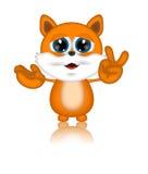 马文猫例证印度桃花心木漫画人物 库存照片
