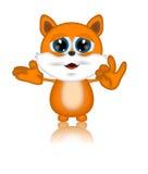 马文猫例证印度桃花心木漫画人物 图库摄影