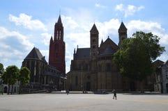 马斯特里赫特在荷兰 免版税库存照片