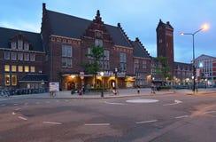 马斯特里赫特,荷兰的火车站 库存图片