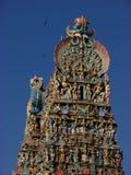 马杜赖Meenakshi寺庙在印度 免版税图库摄影
