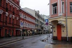 马来半岛Bronaya街道 图库摄影
