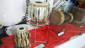马来的传统乐器 库存图片