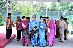 马来的婚礼,马来西亚 免版税图库摄影