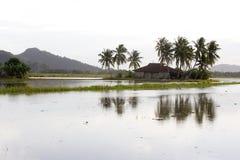 马来的村庄 免版税库存照片