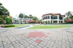 马来的遗产中心新加坡 库存照片
