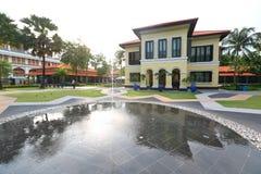 马来的遗产中心新加坡 图库摄影