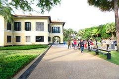 马来的遗产中心新加坡 免版税库存图片