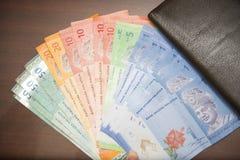 实拍一堆钱的照片_马来西亚林吉特钞票 库存照片 & 图像