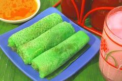 马来西亚传统食物 库存照片