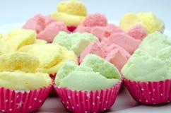 马来西亚传统糖果店 免版税库存图片