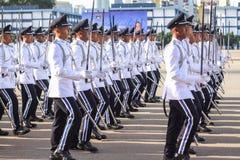 马来西亚军校学生审查员 图库摄影
