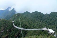 马来西亚凌家卫岛海岛桥梁 库存图片