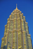 马来西亚天然碱耸立孪生 库存照片