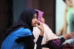 马来西亚女孩 免版税库存照片