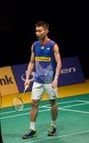 马来西亚开放羽毛球冠军2014年 免版税库存图片