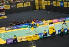 马来西亚开放羽毛球冠军2013年 免版税库存图片
